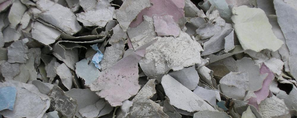 Alternative Bedding - Paper Gypsum